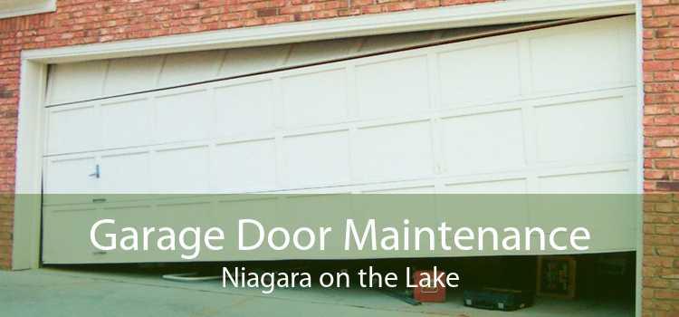 Garage Door Maintenance Niagara on the Lake