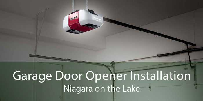 Garage Door Opener Installation Niagara on the Lake