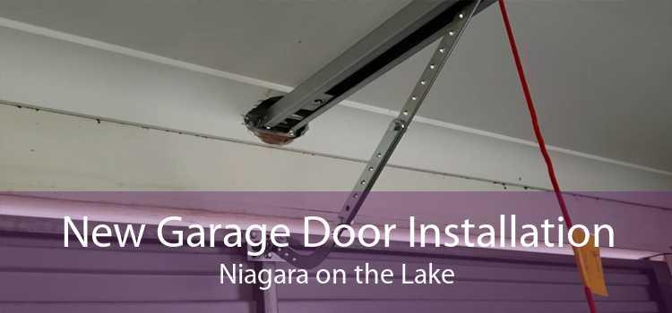 New Garage Door Installation Niagara on the Lake