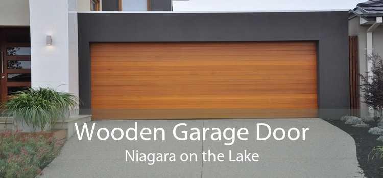 Wooden Garage Door Niagara on the Lake